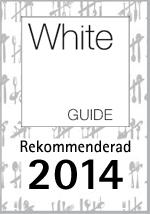 White guide rekommenderar 2014